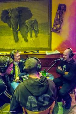 Concert & Interview @Radio Zinzine