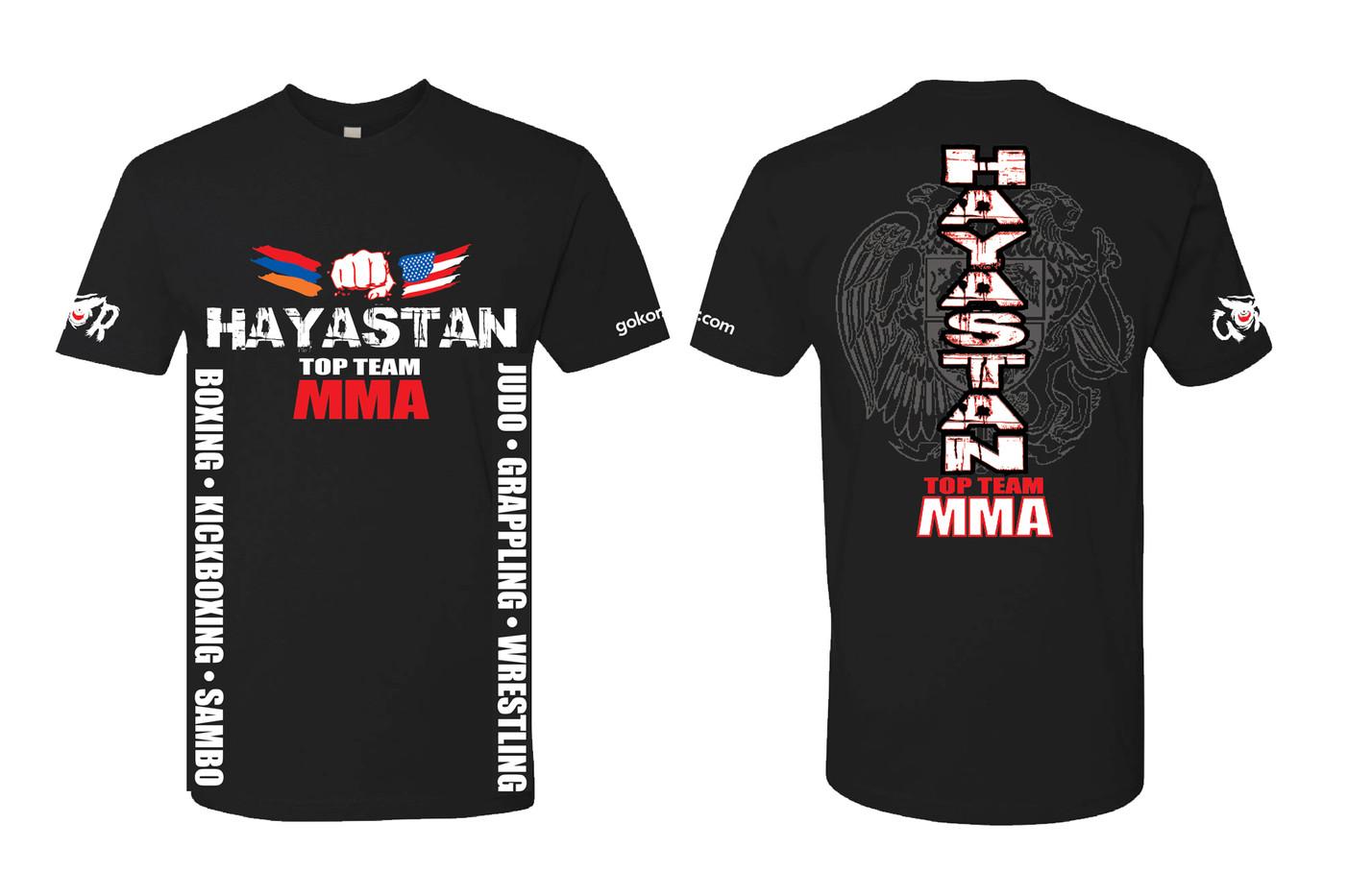 Hayastan MMA Black T-Shirt