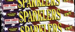 """10"""" USA Gold Sparkler"""
