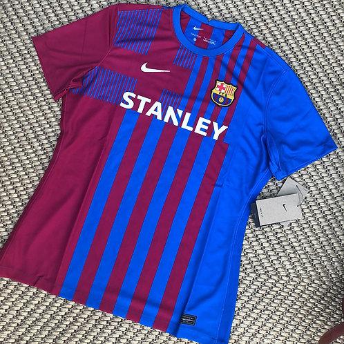 "2021/22 Barcelona FC Home ""Stanley"" Sponsor 2020/21"