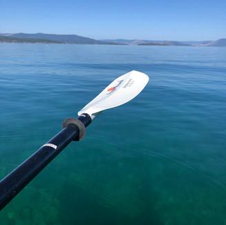 A great day kayaking on Flathead Lake