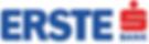 ERSTE Bank logo.
