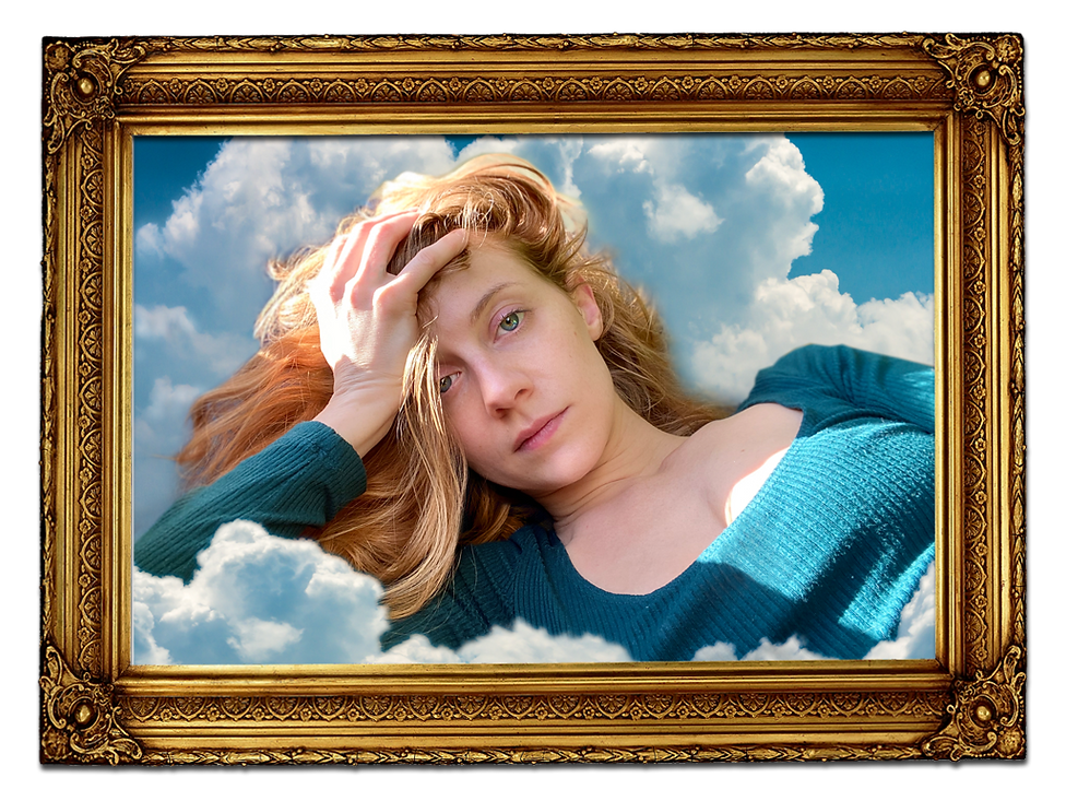 Cassandra In The Clouds (Framed).png