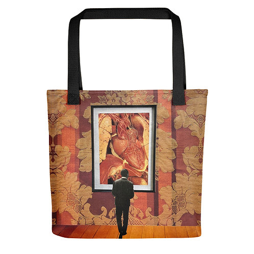 """""""Unavoidable Heart"""" Tote Bag"""