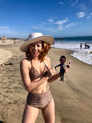 Cassandra & Mini-Ray (personalized lookalike dolls)