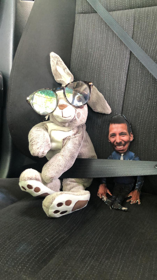 mini-Ray and Alfonso [look for mini-Alfonso!]
