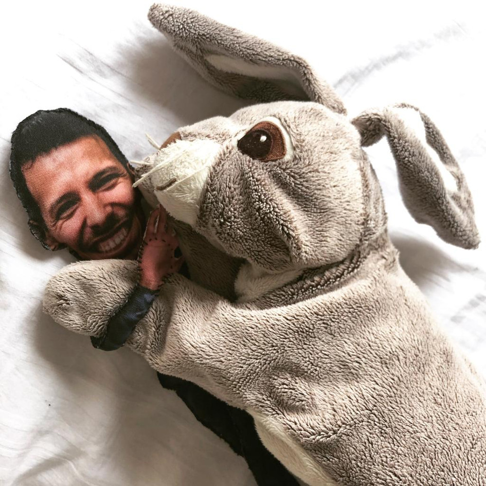 Alfonso & Mini-Ray (personalized lookalike dolls)
