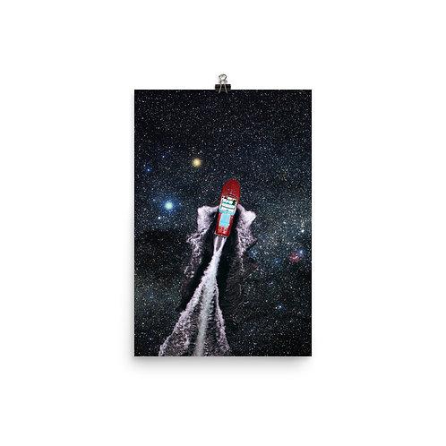 """Poster Print: """"A Trip Through the Stars"""""""