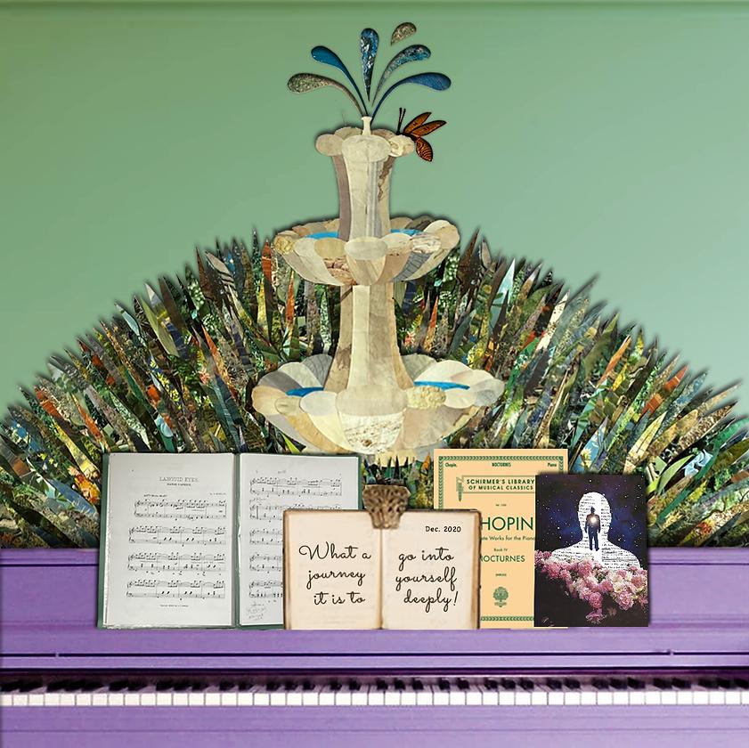 piano gallery - piano details Cassandra