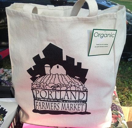 Portland Farmers' Market Organic Tote Bage