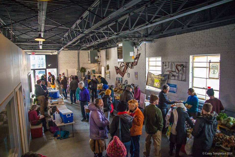 Portland Winter Farmers' Market 2014