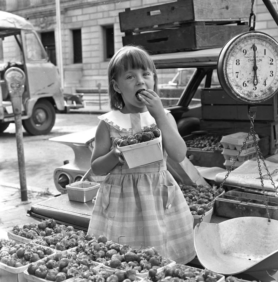 Portland Farmers' Market 1963