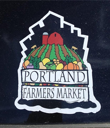 Farmers' Market Bumper Sticker