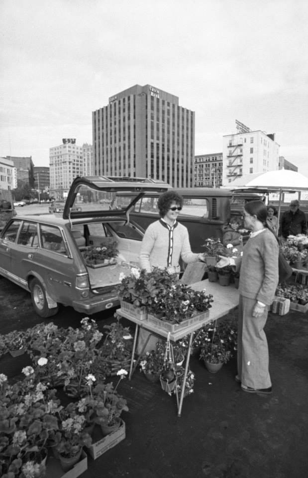 Portland Farmers' Market 1976