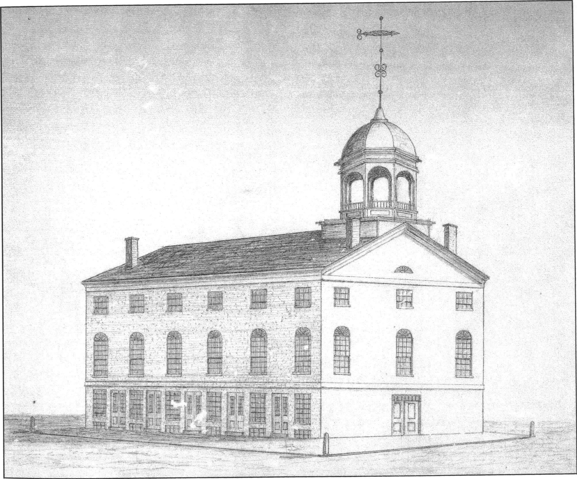 The Old Market House 1830s