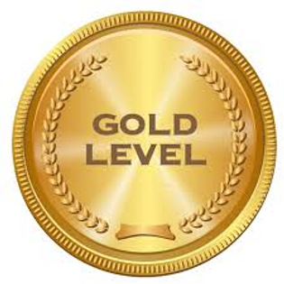 Gold Level $1,000 to $1,999