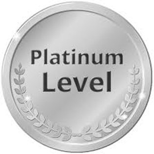 Platinum Level $2,000+