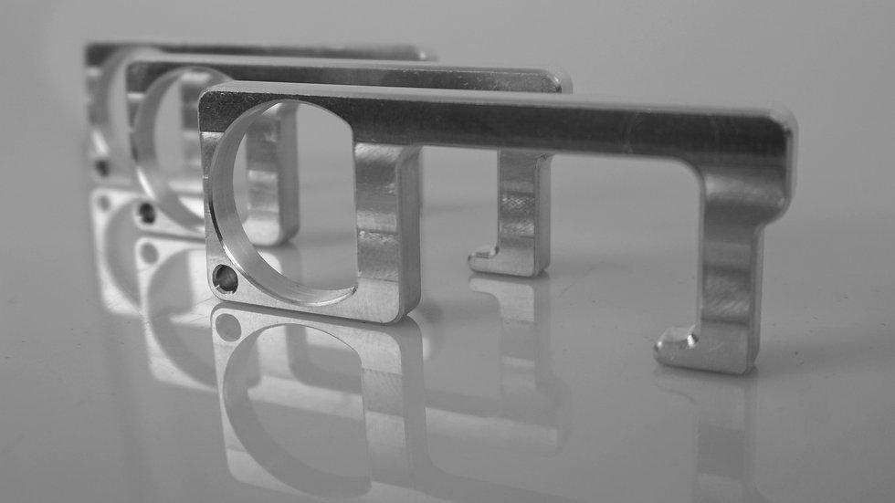 3-Pack Aluminum Essential Keychain Multi-Tool