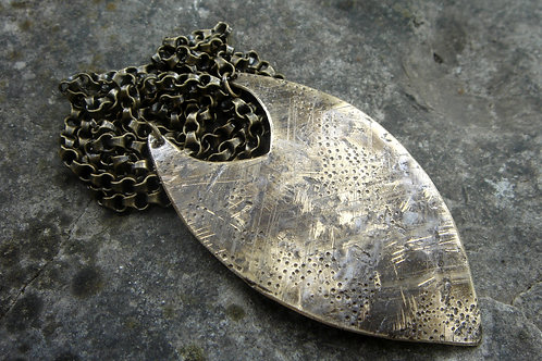 Yesteryear- Brass layering Necklace