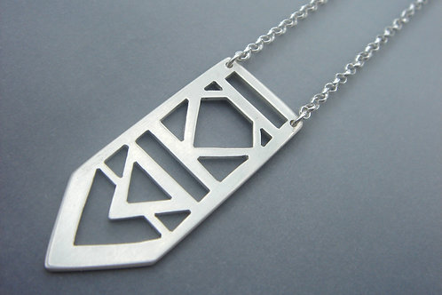 Brave Necklace - Sterling silver