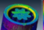 Thermal analysis, stress analysis, structural analysis, design for 3D metal printing