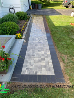 Paver Walkway done in Ansonia CT 5