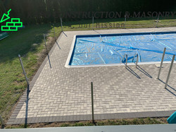 Paver Pool Deck done in Ansonia CT