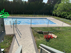 Paver Pool Deck done in Ansonia CT 7