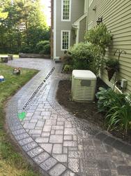 Paver walkway & patio