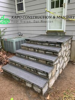 Granite Steps done in Bethany1