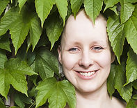 Cancer patient smiling. Nature. Holistic Therapy. Alternative treatments and complementary therapy. Laughter Therapy.