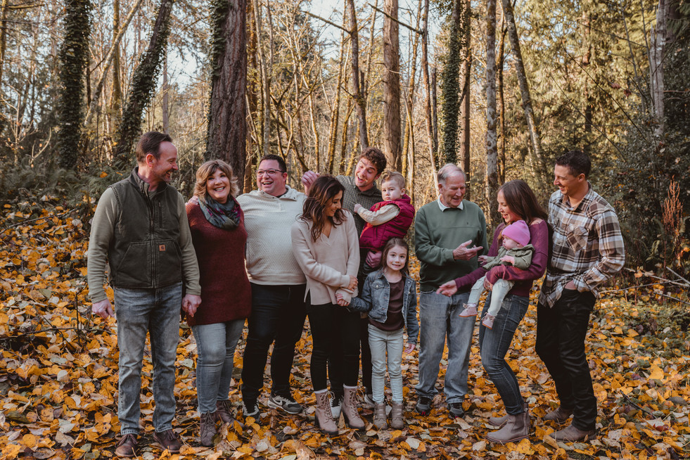 Seattle, Puyallup, Family, Children, Forest, Smile, Photographer, PNW