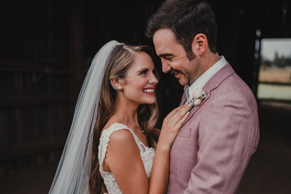 Portland, Wedding, Bride, Groom, Dress, Veil, Venue, PNW, Photographer