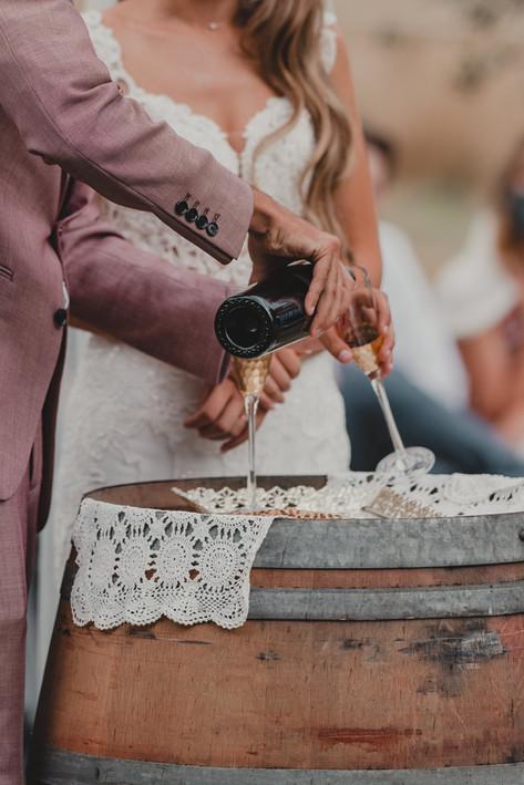 Portland, Wedding, Bride, Groom, Dress, Wine, Communion, PNW, Photographer