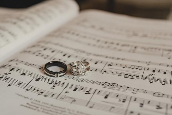 Seattle, Wedding, Rings, Music, PNW, Photographer