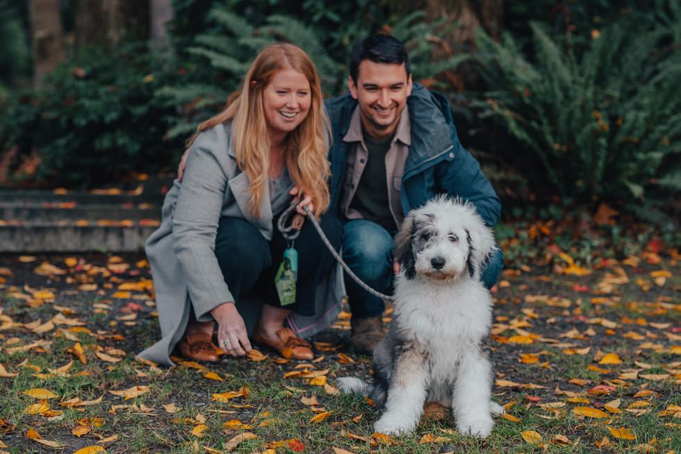 Seattle, Family, Husband, Wife, Dog, Smile, Photographer, PNW
