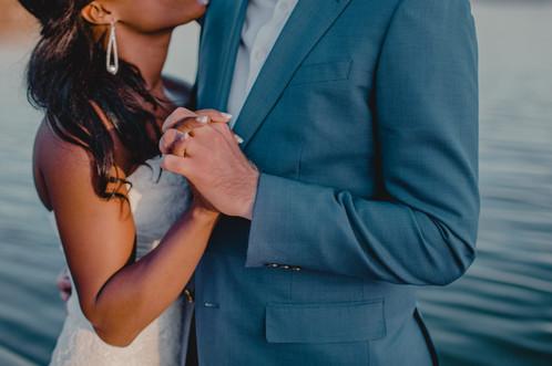 Portland, Wedding, Dress, Bride, Groom, Water, Sunset, PNW, Photographer