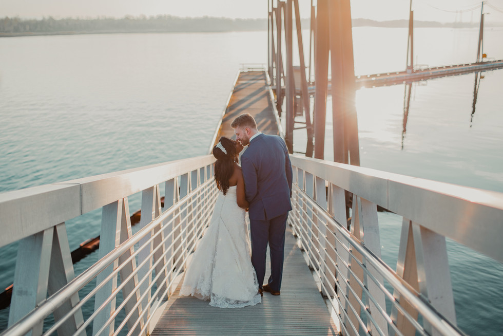 Portland, Wedding, Bride, Groom, Dress, Venue, Sunset, PNW, Photographer