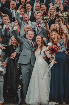 Seattle, Wedding, Bride, Groom, Dress, Bouquet, Celebration, Family, PNW, Photographer
