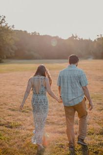 Seattle, Engagement, Boyfriend, Girlfriend, Walking, Sunset, Discovery Park, Photographer, PNW