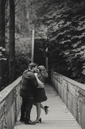 Seattle, Engagement, Boyfriend, Girlfriend, Bridge, Smile, Photographer, PNW