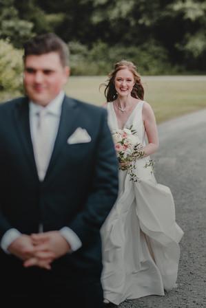 Seattle, Wedding, Elopement, Bride, Groom, Dress, Bouquet, First Look, Smile, PNW, Photographer