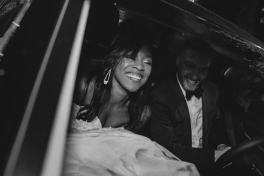 Portland, Wedding, Bride, Groom, Dress, Car, Sendoff, PNW, Photographer