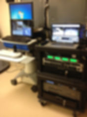 Northwest Telemedicine Roll Around Surgical Video Production System for Multiple Lab Operations