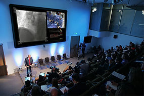 Widescreen HD Video projection and Two-Way audio fo remote surgical procedure by Northwest Telemedicine, Seattle WA