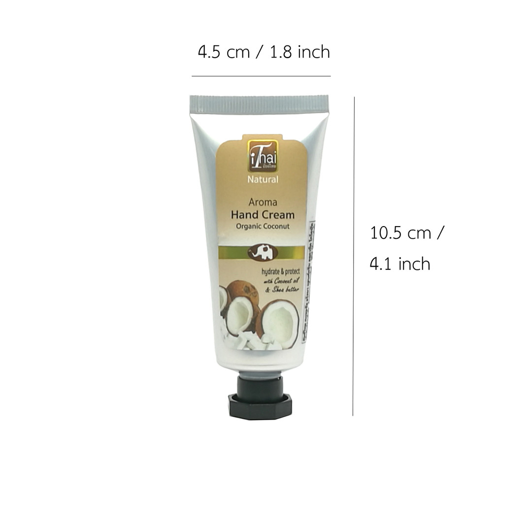 Aroma Hand Cream - Organic Coconutg