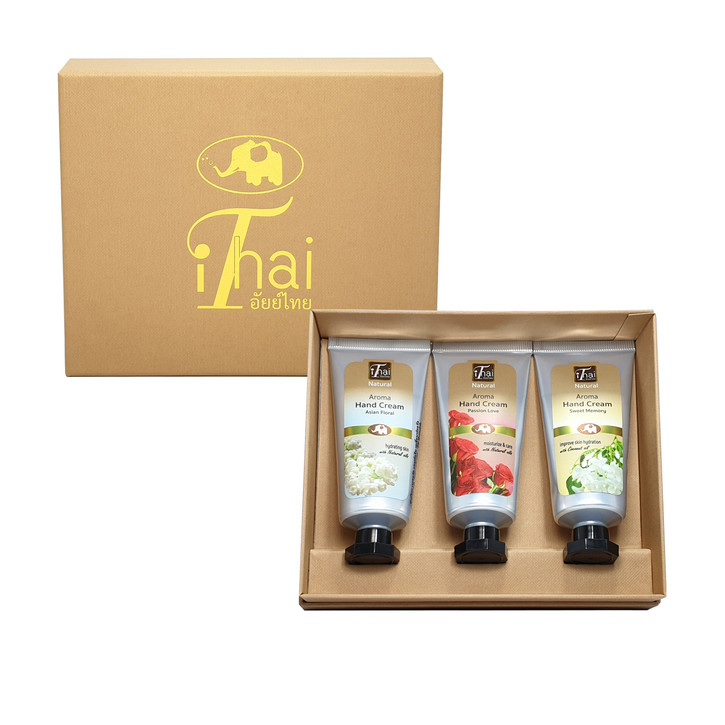 Triple Floral Collection Hand Cream Gift Set