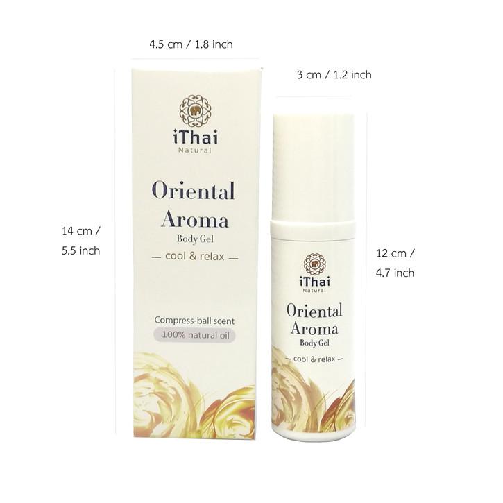 Oriental Aroma Body Gel