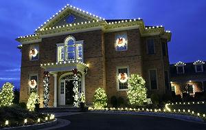 Lighting On House