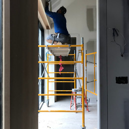 AMAGANSETT 411 Project Process Photos